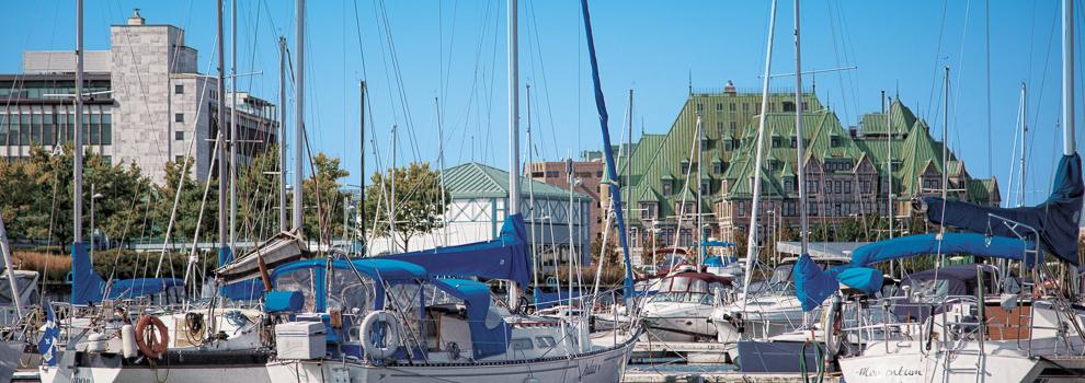Activities and recreation port of qu bec marina for Porte quebec