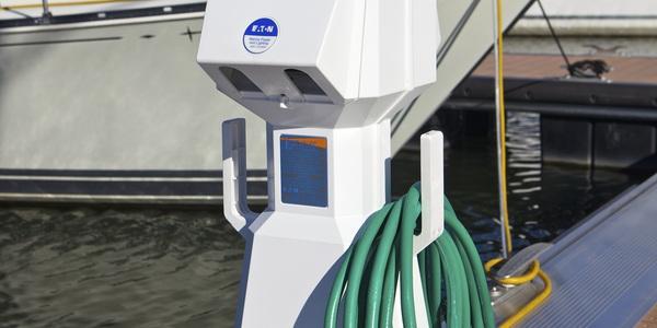 Branchement de l'eau de Marina